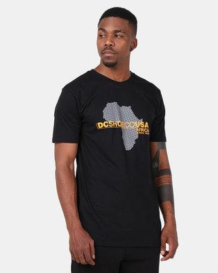 DC Continent T-Shirt Black