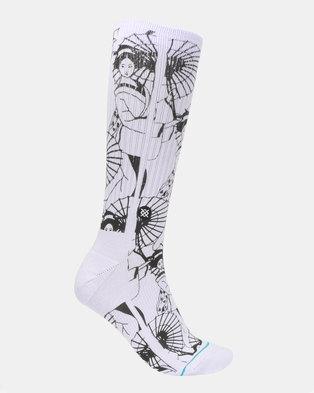 f39c2d956 Stance Kimono Socks Purple