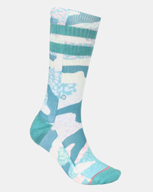 Stance Frankley Crew Socks blue