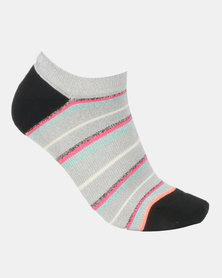 Stance Glisten Socks Grey