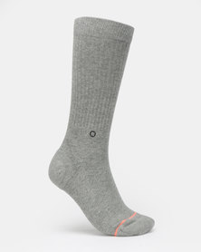 Stance no Doubt Crew Socks Grey