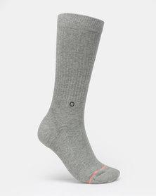 Stance no Doubt Crew Socks Grey