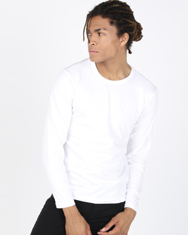 Ultimate T Long Sleeve Fashion Fit Tee White