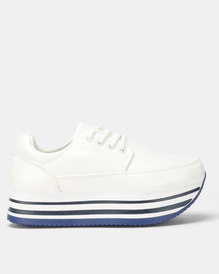 4d281353ac4 Rock Patent White Sneaker. Quick View. TOMTOM