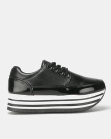 Rock Patent Black Sneaker
