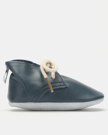 Shooshoos King George Lace Ups Navy