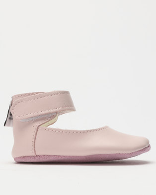 688d9bc1b0f2 Shooshoos Wilshire Ballet Pumps Pink