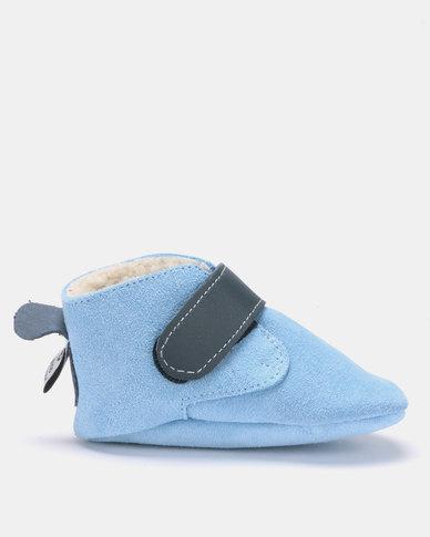 SHOOSHOOS Paper plane fleece slip-on