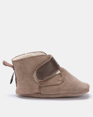 6b36360cfc8 SHOOSHOOS Malted Barley fleece slip-on