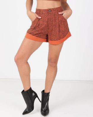 Billabong Babylon Shorts Black/Orange