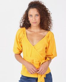 Billabong New Lust Top Golden Glow