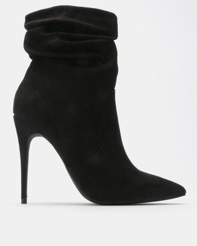 Madison Lyla Shuffle Ankle Boots Black
