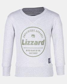 Lizzard Tahoe Pullover Crew Grey