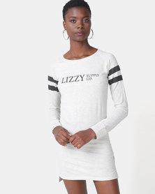 Lizzy Felisa Dress Oatmeal Melange