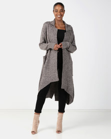 Joy Collectables Long Cardigan Beige