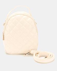 Joy Collectables Quilted Crossbody Bag White