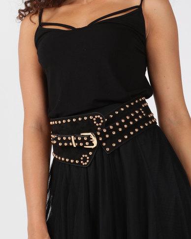 Joy Collectables Stretch Belt Black