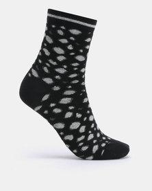 Joy Collectables 5 Pack animal print Print Socks Multi
