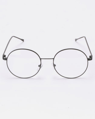 e0565373715 Joy Collectables Clear Lense Glasses Black
