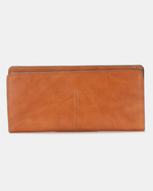Joy Collectables Classic Wallet Tan
