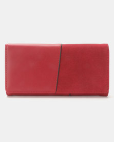 Joy Collectables Contrast Wallet Red