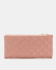 Joy Collectables Quilted Wallet Pink