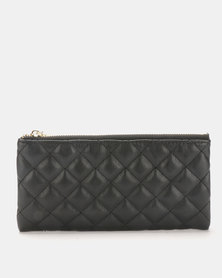 Joy Collectables Quilted Wallet Black