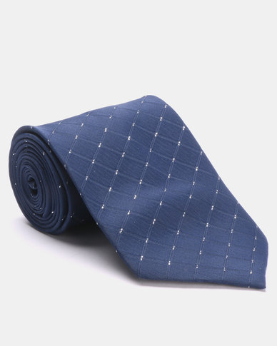 Joy Collectables Dot Tie Blue