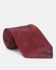 Joy Collectables Simple Tie Maroon