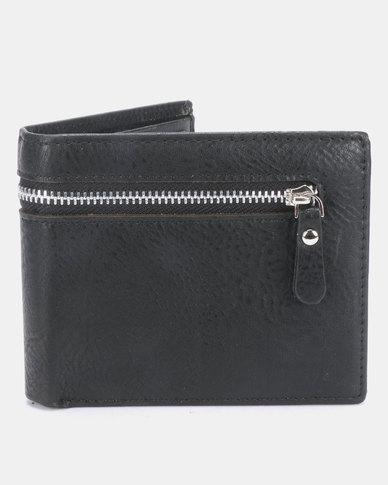 Joy Collectables Zipped PU Wallet Black