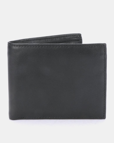 Joy Collectables Classic Faux Leather Wallet Black