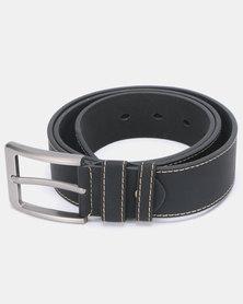 Joy Collectables Stitched PU Belt Black