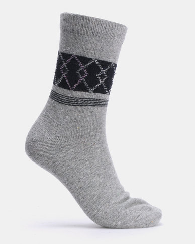 Joy Collectables 5 Pack Argyle Socks Multi