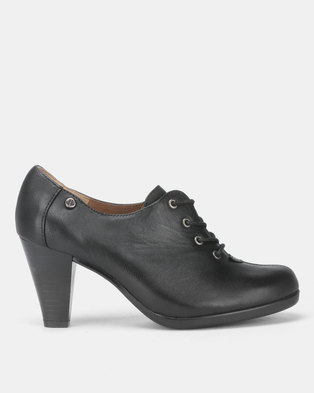 7b5a33d6ae8 Froggie Blair Lace Up Heels Black