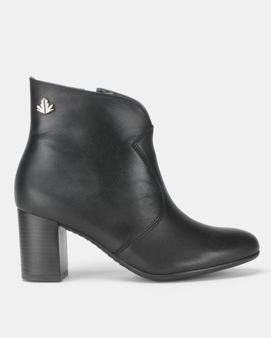 Froggie Asia Ankle Boots Black