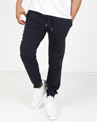 premium selection 60ff4 1dd6e New Look Drawstring Waist Joggers Navy