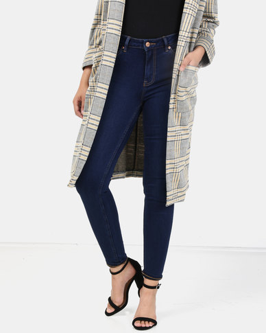 New Look Rinse Wash Super Soft Super Skinny India Jeans Blue