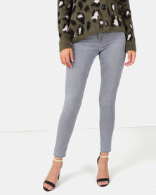 New Look Dark Grey Super Soft Super Skinny India Jeans