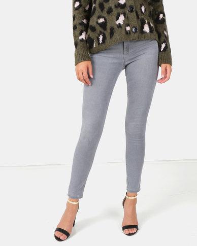 New Look Dark Grey Super Soft Super Skinny India Jeans