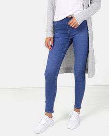 New Look Jeggings Mid Blue