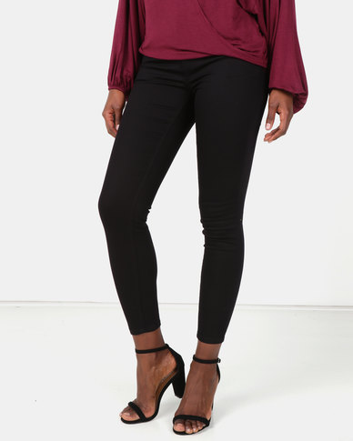 New Look High Waist Skinny Yazmin Jeans Black