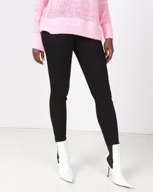 New Look Super Soft Super Skinny Jeans Black