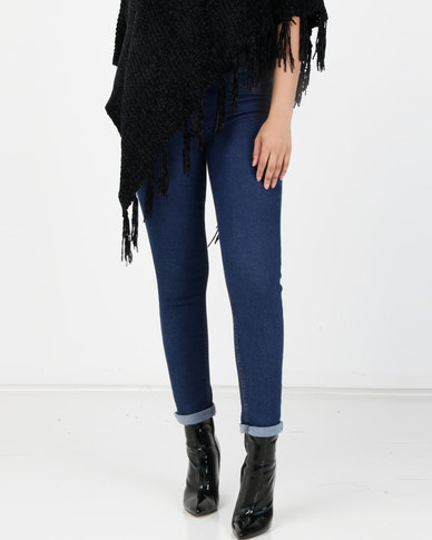 New Look Rinse Wash Skinny Jeans Blue