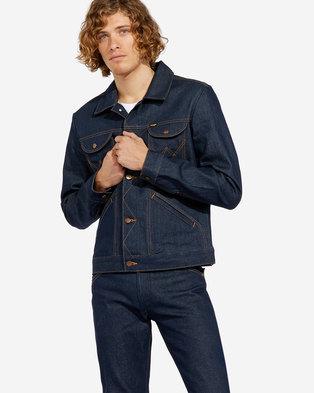 06bd580155 Wrangler Icon Denim Regular Fit Jacket Blue