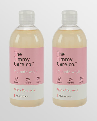 Intimate Wash Rose + Rosemary - 2 x 300ml Pack