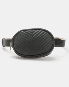 Steve Madden W-Leader Belt Bag Black