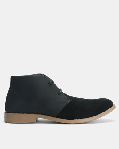 Utopia Lace Up Boots Black