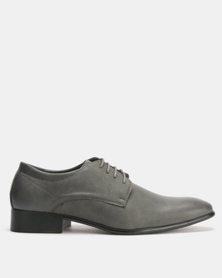 2ed486d779c2 Utopia Formal Lace Ups Grey