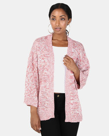 Brave Soul Multi Twist Cardigan