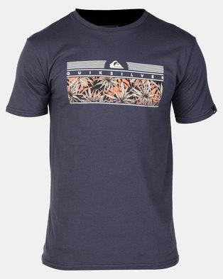 Quiksilver The Jungle T-Shirt Blue